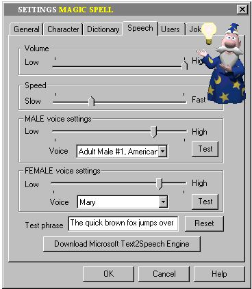 MagicSpell Speech Controls