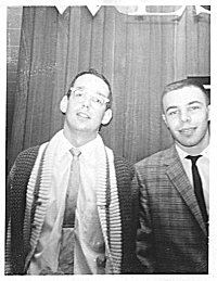 Curt (on right) at WLS Aug 1962
