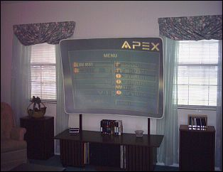 Apex DVD Player Menu