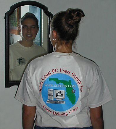 T-shirt with SCPCUG Logo